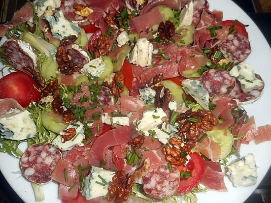 recette Salade aveyronnaise