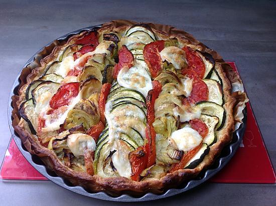 recette Tarte aux legumes
