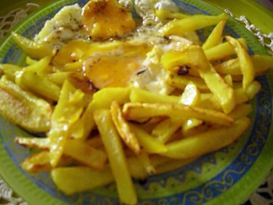 recette Frites light au four