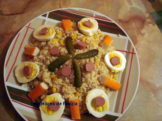 recette .. Boulghour en salade