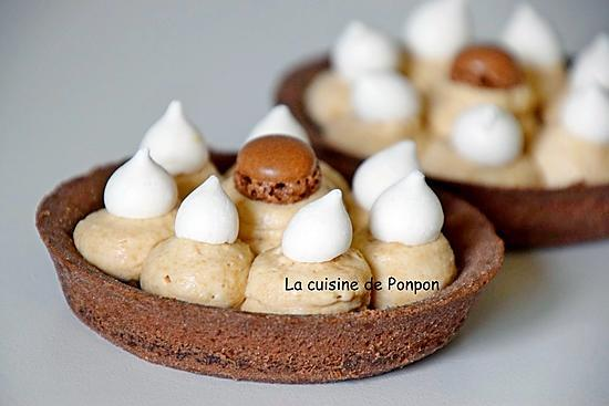 recette Tartelette à la crème de marron et chantilly au spéculoos