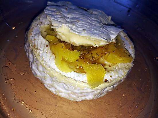 recette Camembert rôtis au four au pommes et au miel