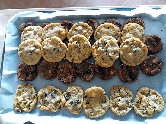 recette Cookies noisettes sans oeufs