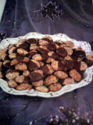 recette sable aux amandes et au chocolat