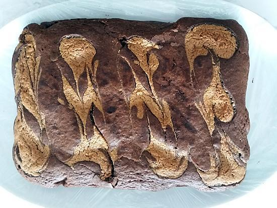 recette Fondant chocolat/peanut butter