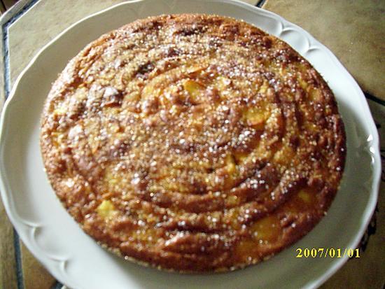 recette Gâteau moelleux aux pommes