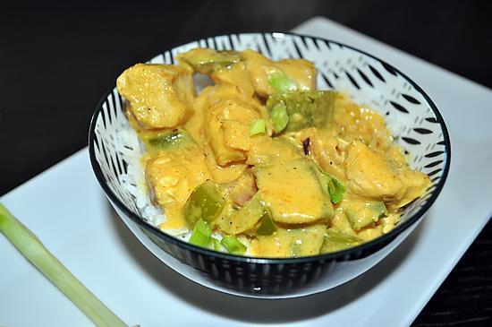 recette Poulet Curry Citronnelle Gingembre...  le vietnamien dans le plat