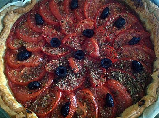 recette Tarte aux tomates