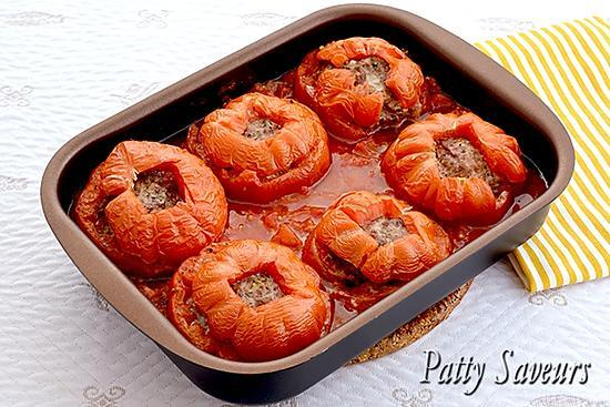 recette Tomates Farcies au Boeuf