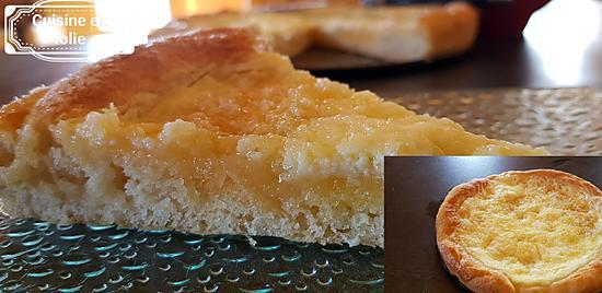 recette Tarte au sucre 3ème version