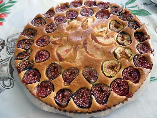 recette tarte aux figues