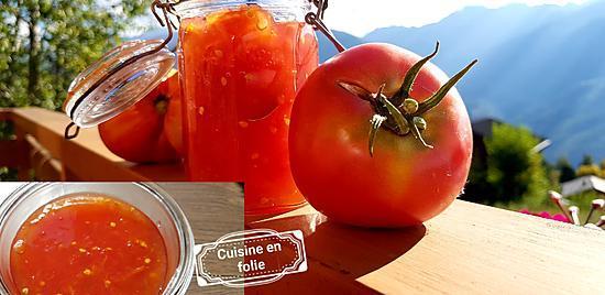 recette Confitures de tomates anciennes