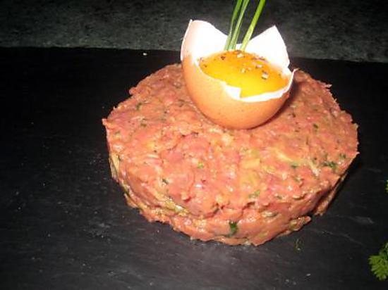 recette de steak tartare. Black Bedroom Furniture Sets. Home Design Ideas
