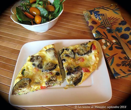 recette Frittata aux légumes grillés