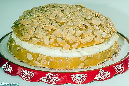 recette Bienenstich (gâteau nid d'abeille)
