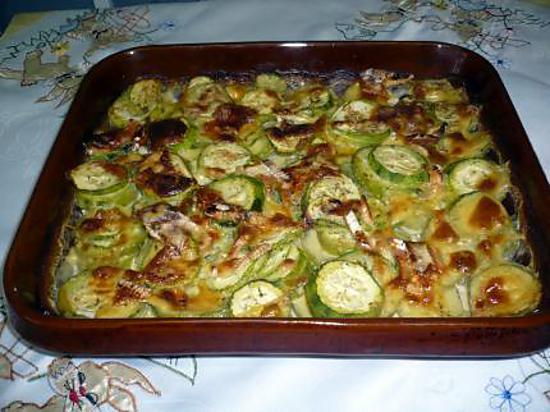 recette de courgettes raclette camembert. Black Bedroom Furniture Sets. Home Design Ideas