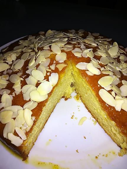 recette Gâteau yaourt à l'orange
