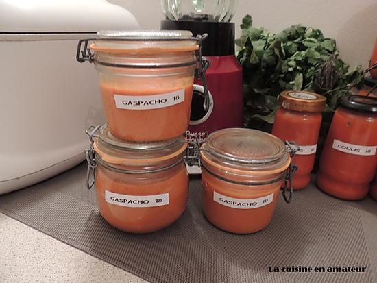 recette Gaspacho tomates et courgettes
