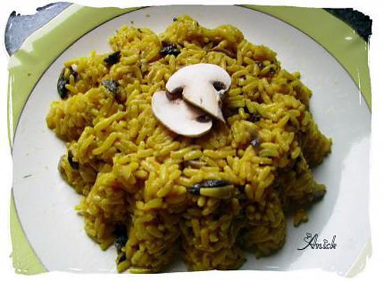 recette riz jaune (yellow rice )