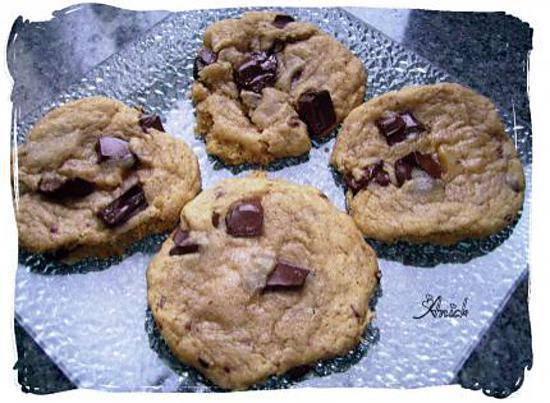 recette cookies à la vanille