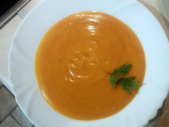 recette Ma première soupe à la courge