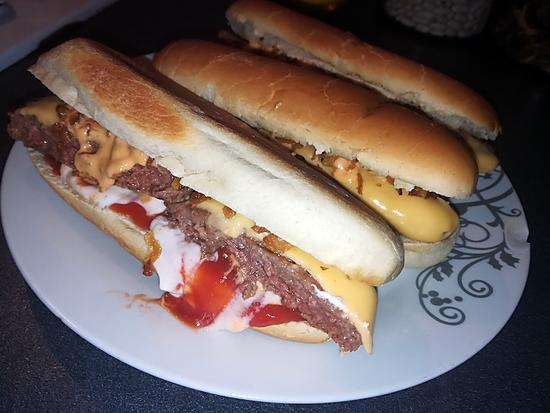recette Burger dog