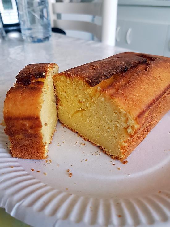 recette Cake aux citrons jaunes