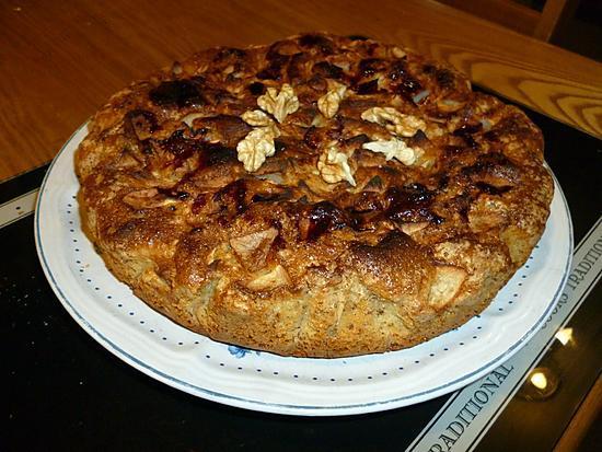 recette Gâteau pommes/noix