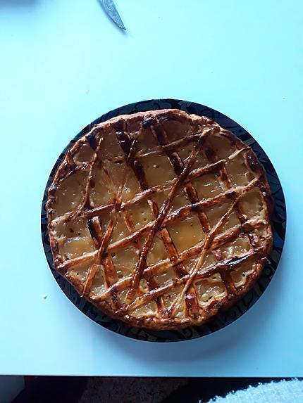 recette tarte aux pomme express