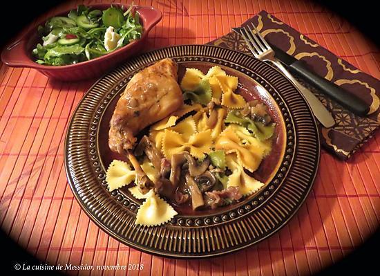 recette Lapin à l'italienne, version 2 +