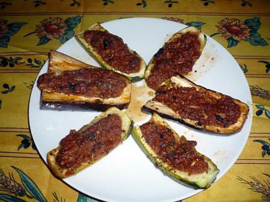 recette Légumes farcis viande/champignons