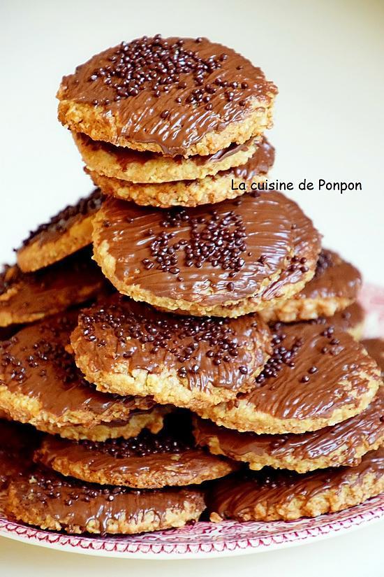 recette Biscuit granola et perles de chocolat