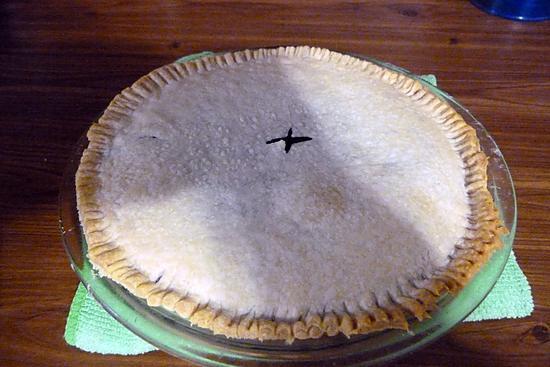 recette tarte aux bleuet du lac st jean