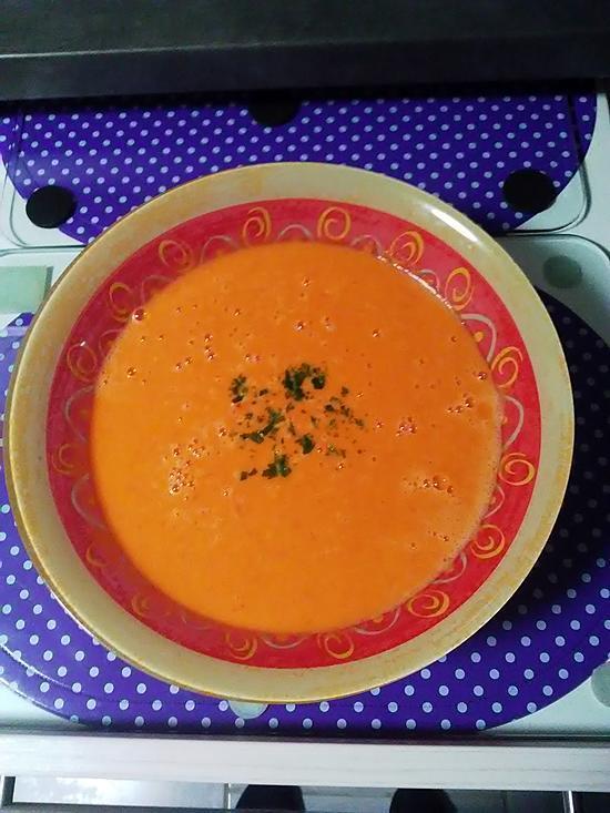 recette Veloutée vitamine C aux  doux poivrons