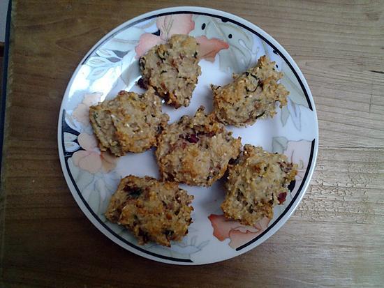 recette de cookies sal s pour ap ritif aux flocons d. Black Bedroom Furniture Sets. Home Design Ideas