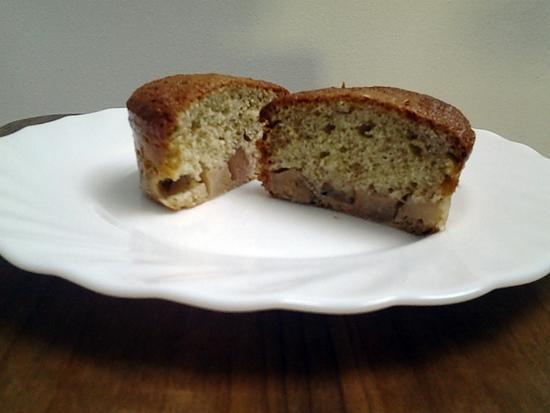 recette Gâteau au yahourt aux poires