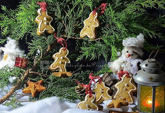 recette Bonhommes de Noel en sablés spéculoos