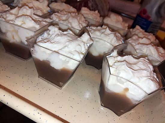 recette Verrines mascarpone crème de marron