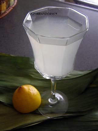 recette jus de citron