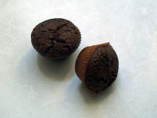 recette MUFFINS MARBRES CHOCO PRALINOISE-CARAMBAR