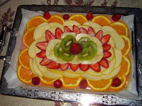 decoration tarte au fruit