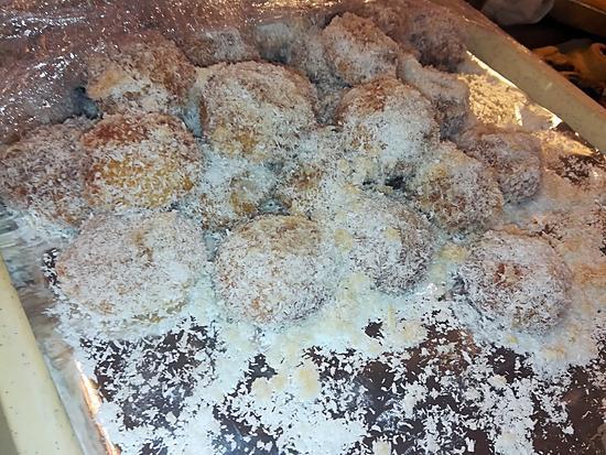 recette Boules coco oriental