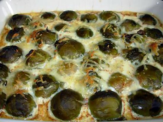 Recette de choux de bruxelles gratin s - Choux de bruxelles recette gratin ...