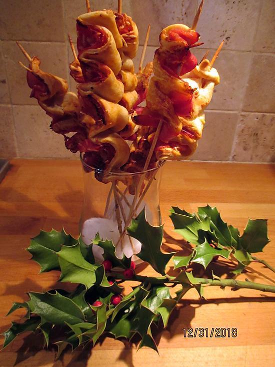 recette feuilletés jambon avec ou sans gluten