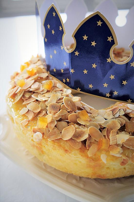 recette Gâteau des Rois Brioché, Chocolat et Agrumes