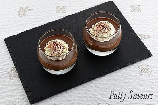 recette Panna Cotta au Chocolat Noir
