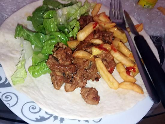 recette Assiette kebab chinoise