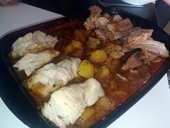 recette Pointe de porc rôti au four