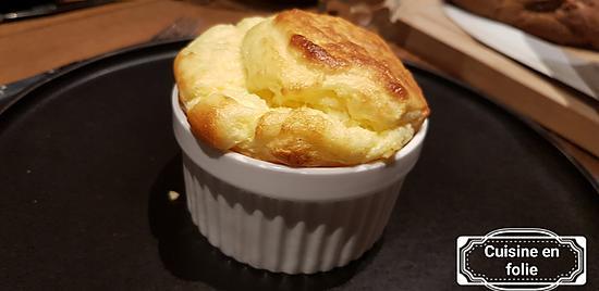 recette Soufflé au fromage individuel