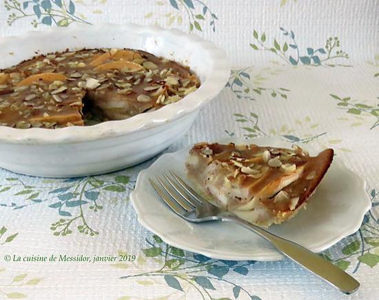 recette Tarte aux pommes de paresseuse +
